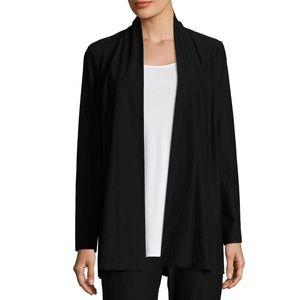 Eileen Fisher Woman Stretch Topper Jacket/Cardigan